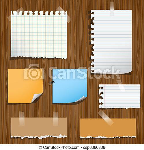 Notes paper  - csp8360336