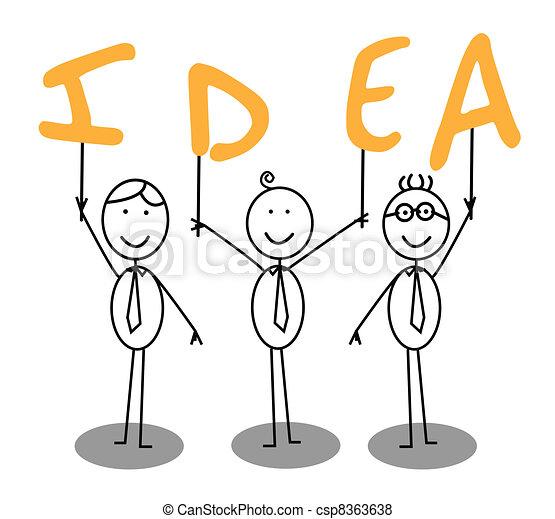 idea text group  - csp8363638