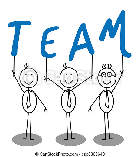 Team Group Text - csp8363640