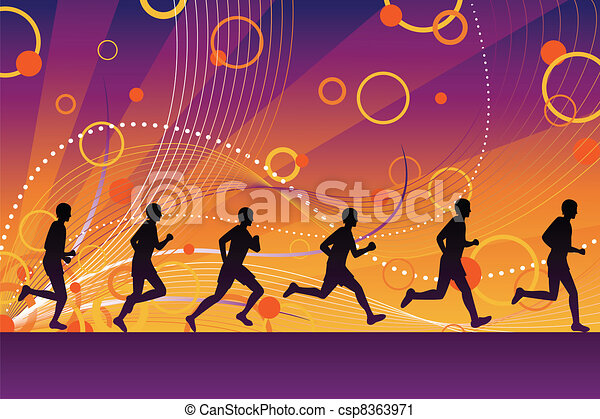 Silhouette runners - csp8363971