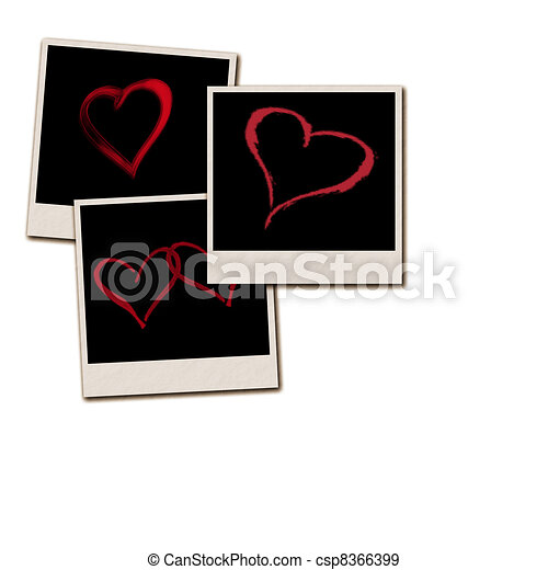 Film Frames for Valentines Day - csp8366399