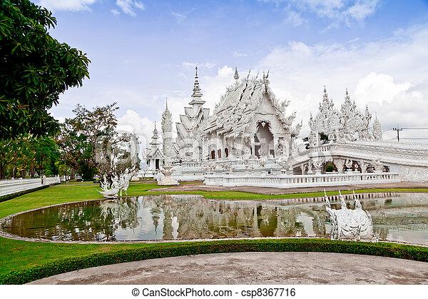 Wat Rong Khun, Chiang Rai province - csp8367716
