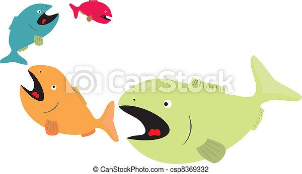 Fish Eating Fish Clip Art Big Fish Eat Little Fish Clip