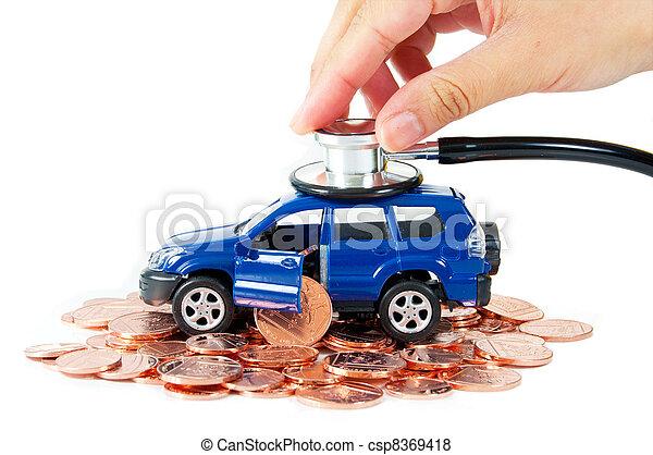 Car insurance  - csp8369418