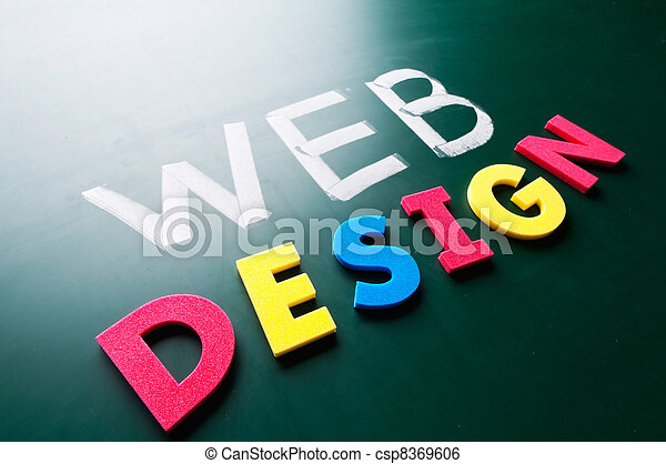 Graphic design concept - csp8369606