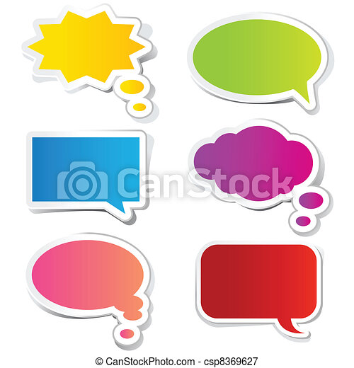 Chat Bubble Sticker - csp8369627