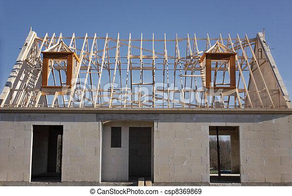 Casa estrutura madeira