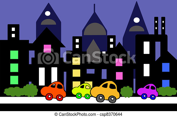 Busy City Clipart Busy City Clipart