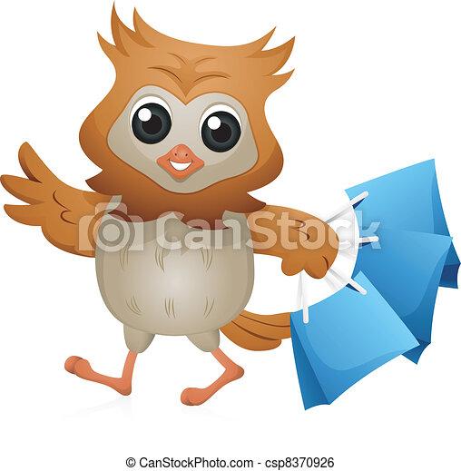 Shopper Owl - csp8370926