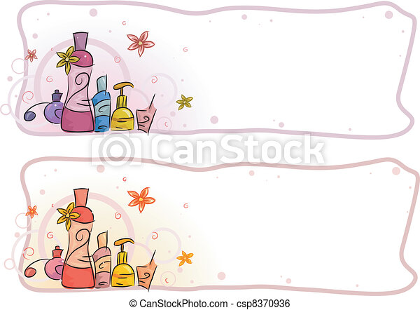 Perfume Header - csp8370936