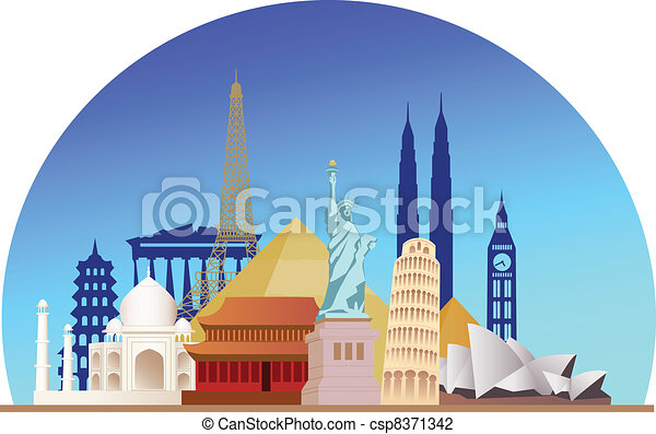 Travel destination - csp8371342
