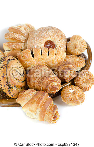 Bakery foodstuffs set - csp8371347