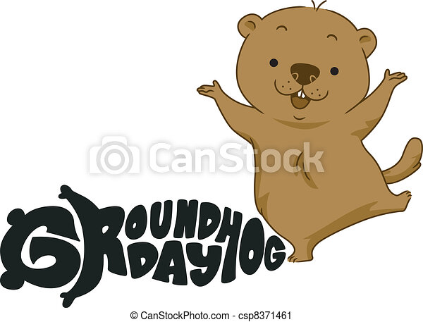 Groundhog Illustrations and Clipart. 531 Groundhog royalty free ...