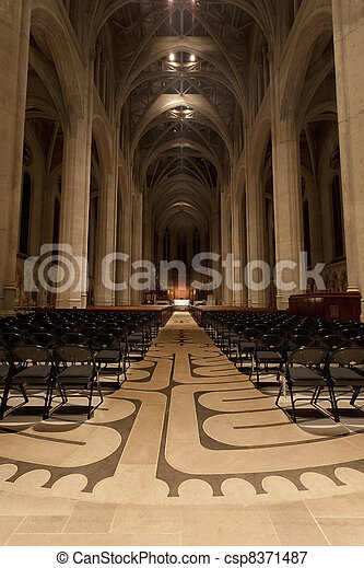 Grace Cathedral, San Francisco - csp8371487