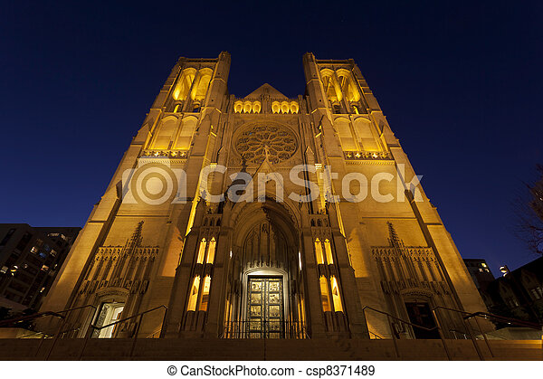 Grace Cathedral, San Francisco - csp8371489