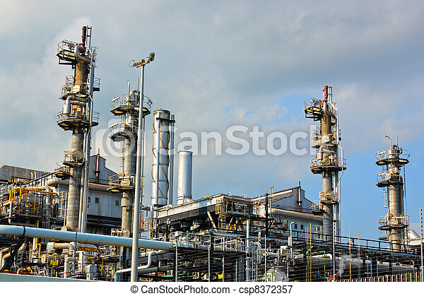 Gas industry - csp8372357