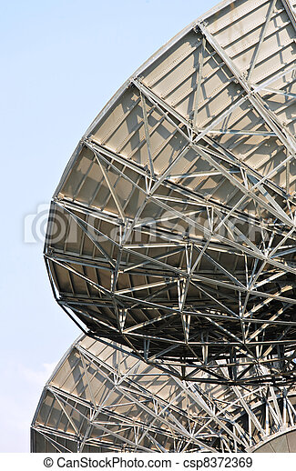 satellite dish - csp8372369