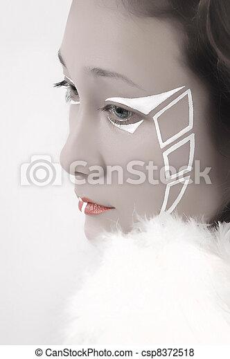 Beautiful Fantasy Angel - csp8372518