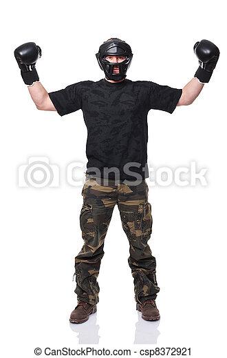 self defence sport - csp8372921