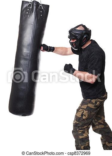 self defence training - csp8372969