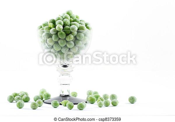 Frozen peas - csp8373359