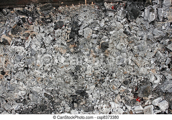 Photographies de les cendres restes br l bois br ler br lant csp837 - Reste de bois brule synonyme ...