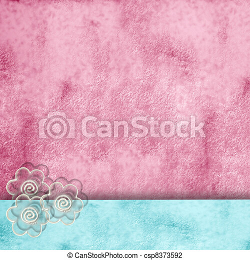 spring background with copy space - csp8373592