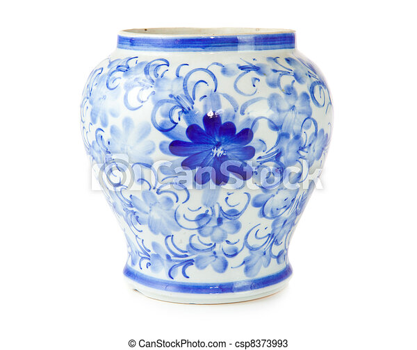 chinese antique vase - csp8373993