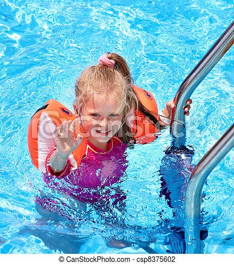 Photo de brassards piscine enfant child brassards for Brassards piscine