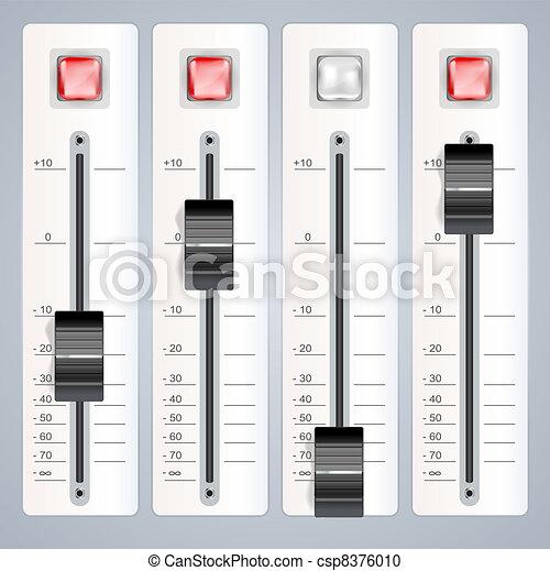 audio mixing console - csp8376010