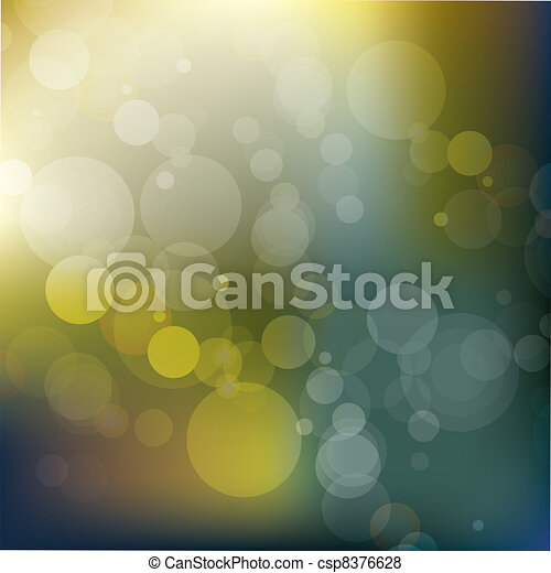 abstract glowing background - vect - csp8376628