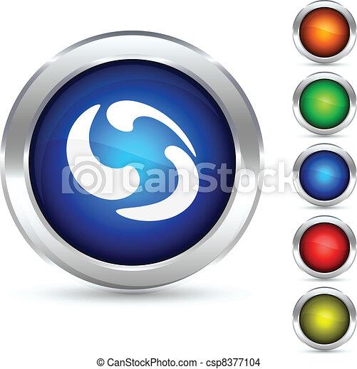 Rotation button. - csp8377104