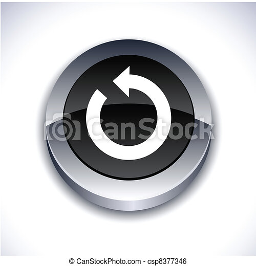 Refresh 3d button. - csp8377346