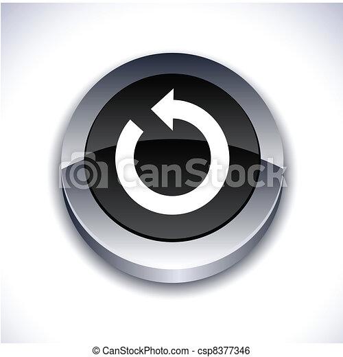 Refresh 3d button. - csp8377346