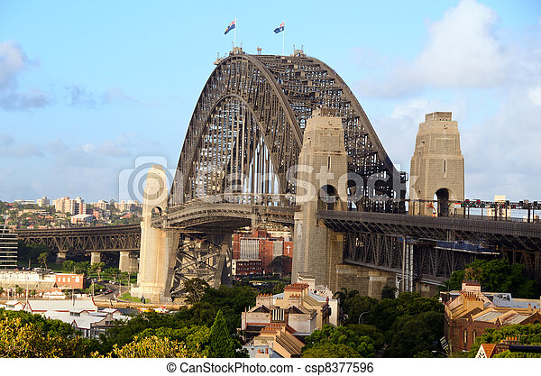 Sydney Harbour Bridge - csp8377596