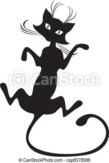 Black cat - csp8378588
