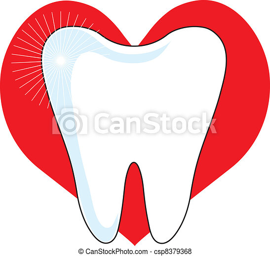 Love My Tooth - csp8379368