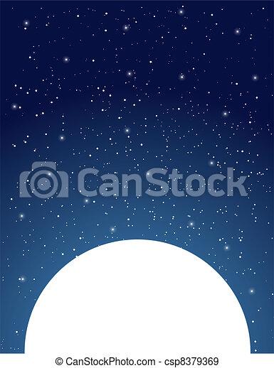 Starry Sky - csp8379369