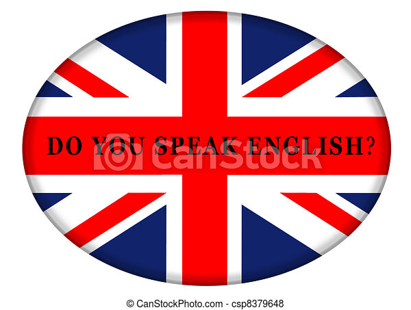 how to say i do not speak english in french