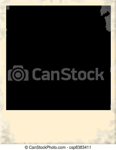 clipart von altes rahmen polaroid dreckige foto altes dreckige csp8383411 suchen. Black Bedroom Furniture Sets. Home Design Ideas