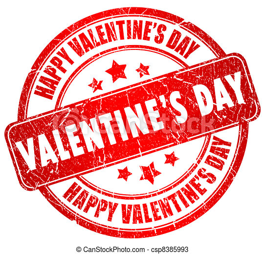 Happy valentines day - csp8385993