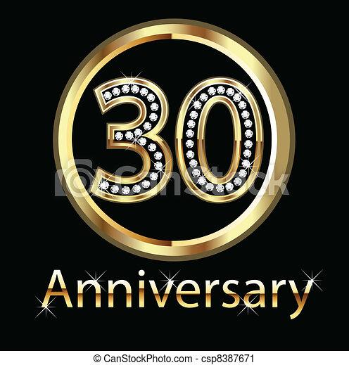 30th Wedding Anniversary Symbol
