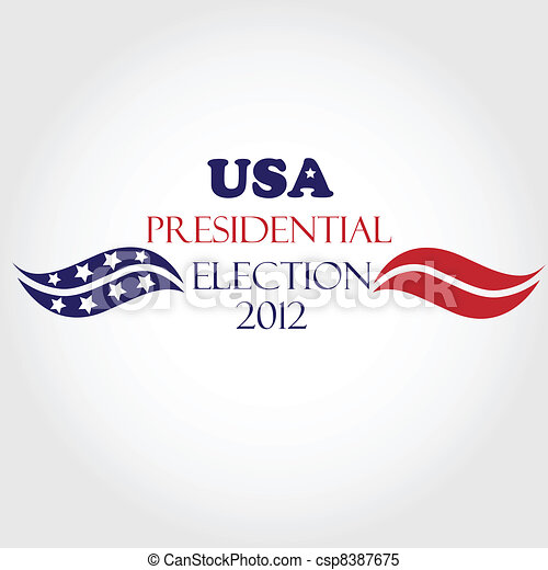USA Presidential Election 2012 - csp8387675