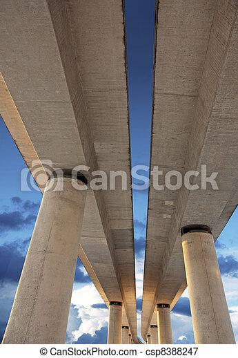 Elevated road - csp8388247