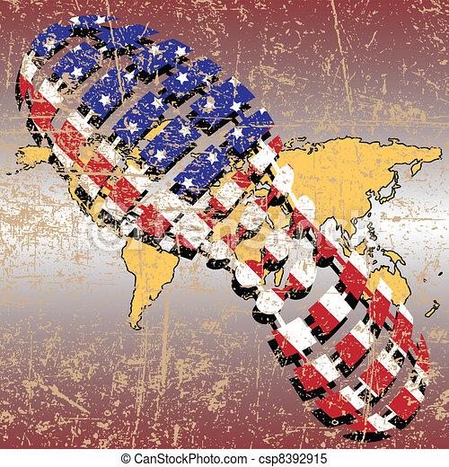 Politics of democracy - csp8392915