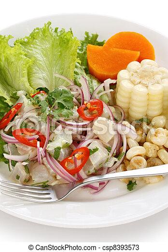 Stock photos of ceviche peruvian cuisine ceviche for Art of peruvian cuisine