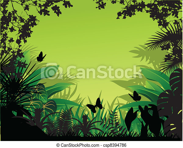 Beautiful nature background - csp8394786
