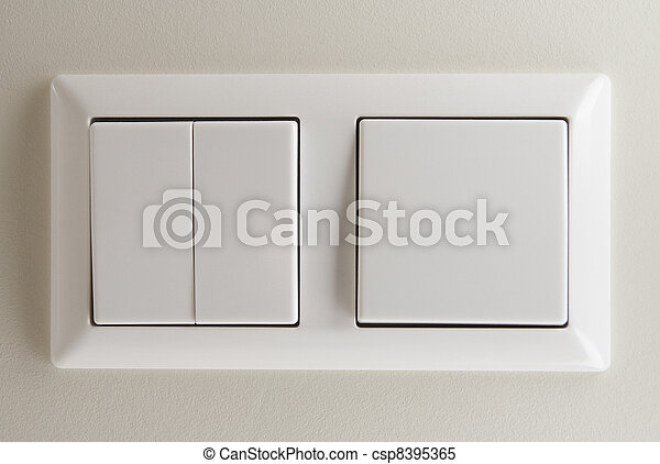 Two light switches - csp8395365