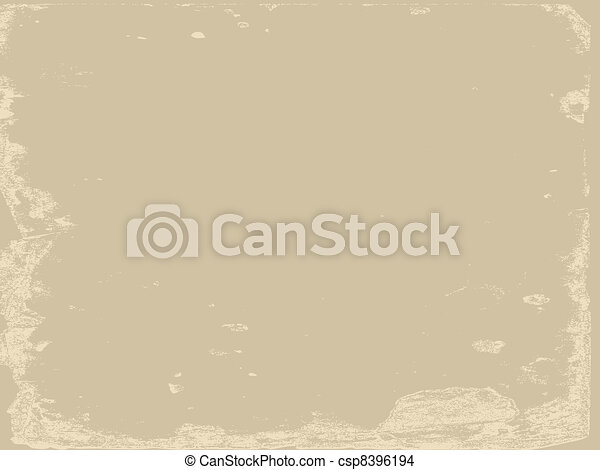aging paper texture, vector illustration - csp8396194