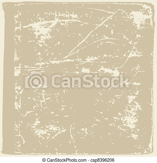 aging paper texture, vector illustration - csp8396206